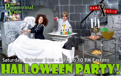 Paranormal View Halloween Party!